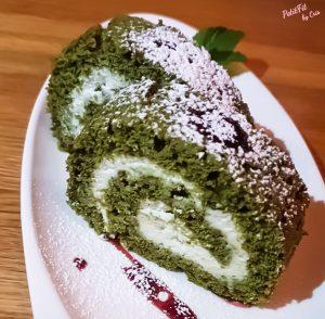 Tarta casera de té verde