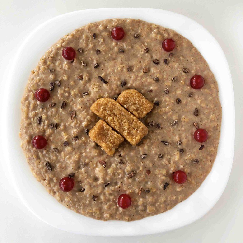 porridge de turron de fitjona