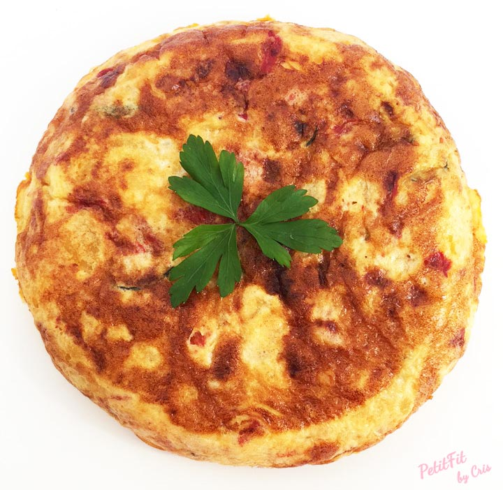 tortilla de patata con toque picante