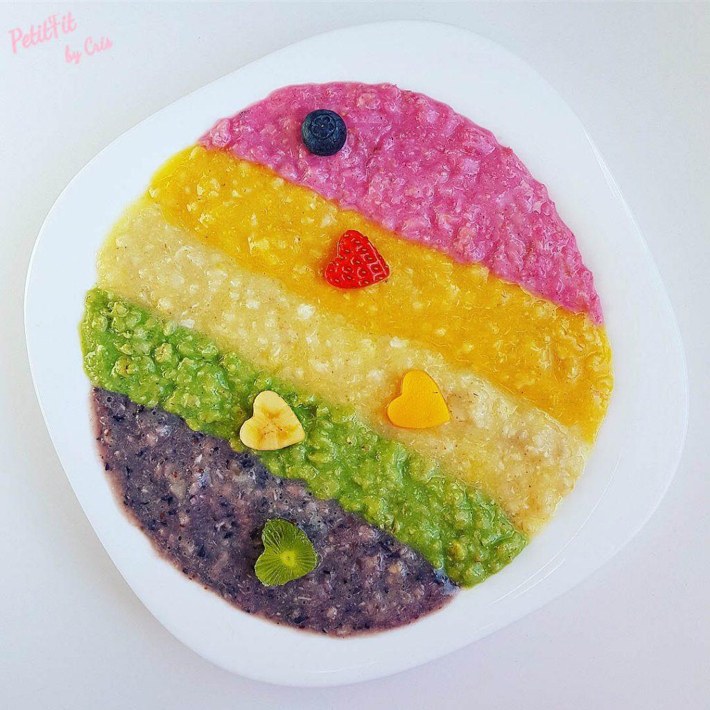 porridge arcoiris