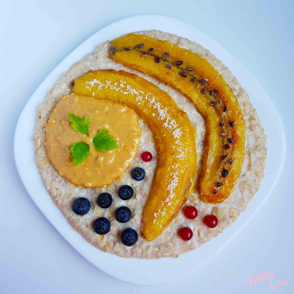 porridge muerte por plátano
