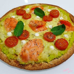 tortipizza con aguacate