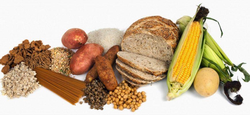 alimentos con almidon