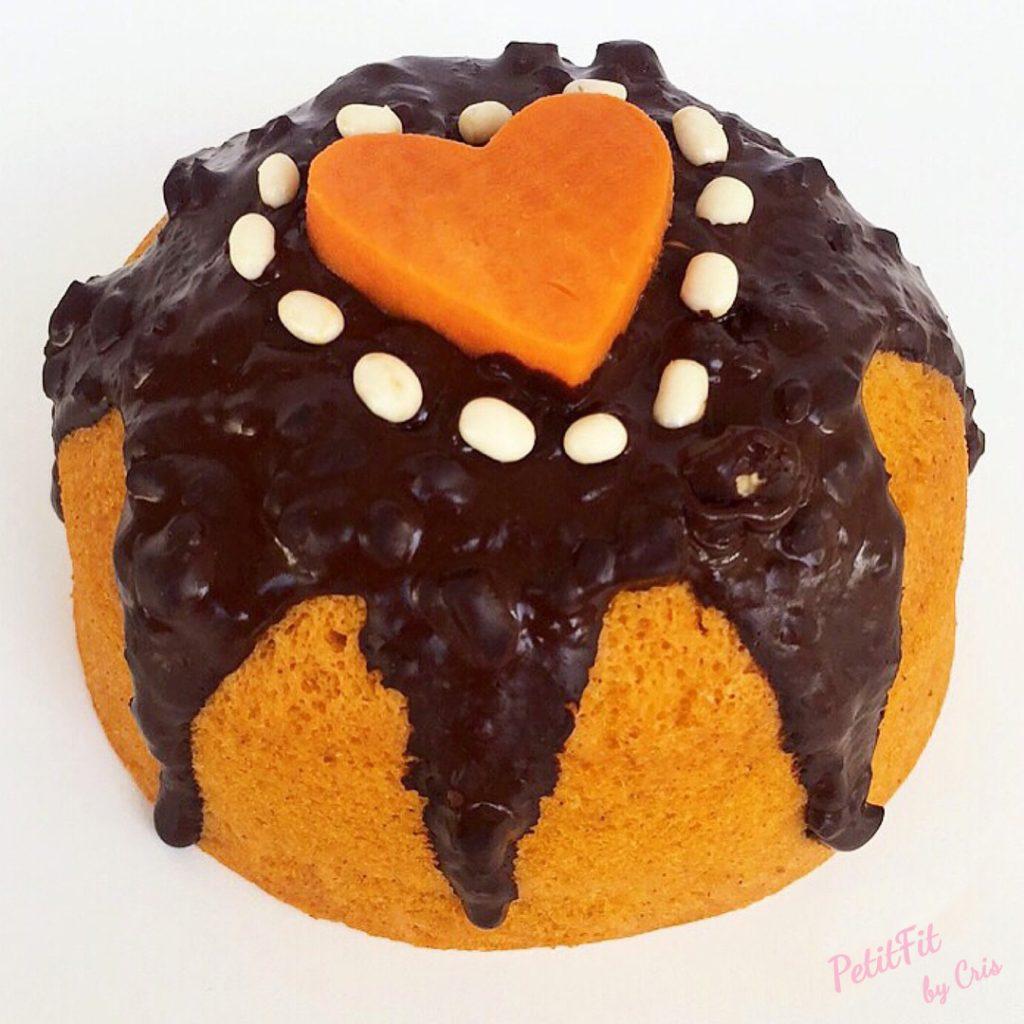 mugcake de boniato y canela