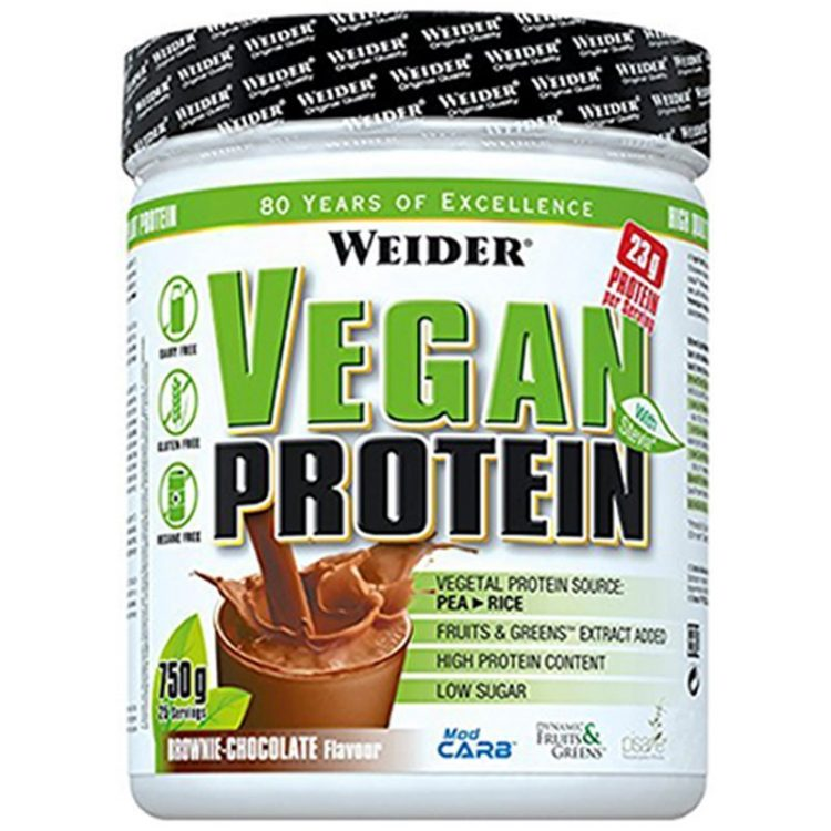 Weider Vegan Protein, Chocolate