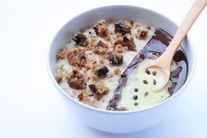 porridge de cookies
